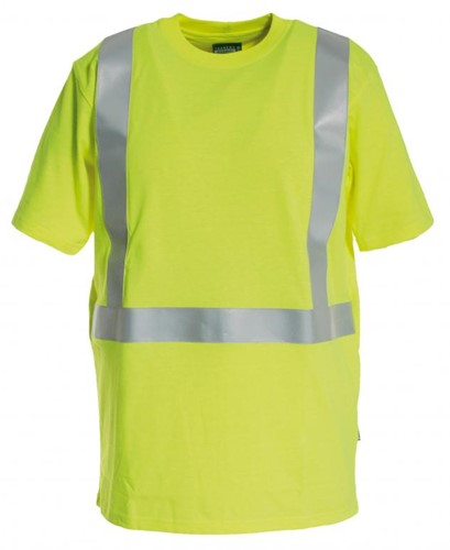 Tranemo T-Shirt Vlamvertragend Hi-Vis 507189-Geel-XS