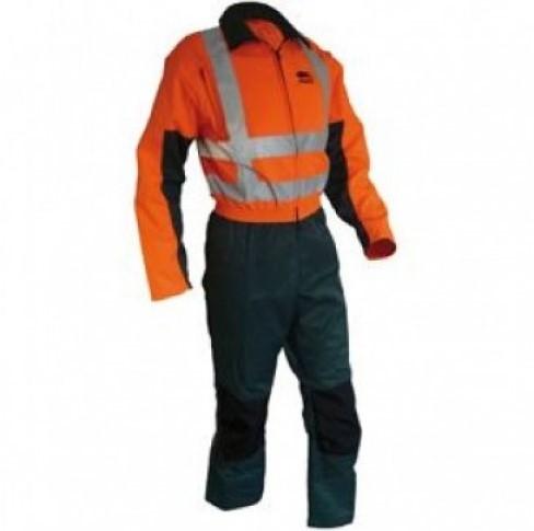 Sticomfort Zaag-snipperoverall 5166-46-Groen/Oranje