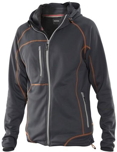 Jobman 5177 Functional hoodie Dames-S-Grafiet/ora