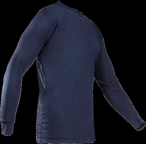 Sioen Picton Vlamvertragende en Antistatische T-shirt-S-Marineblauw