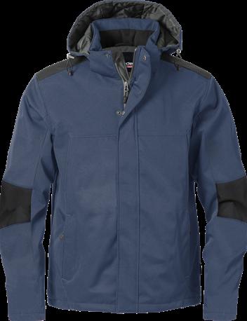 Acode Heren gevoerd softshelljack-S-Donker marineblauw