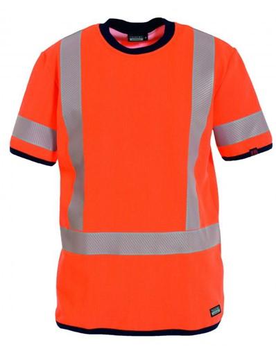 Tranemo T-Shirt Vlamvertragend Hi-Vis 527189