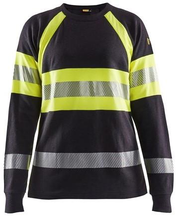 Blaklader 34941761 Vlamvertragend Dames T-Shirt Met Lange Mouwen