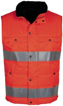 Havep High Visibility Bodywarmer-S-Fluo Oranje