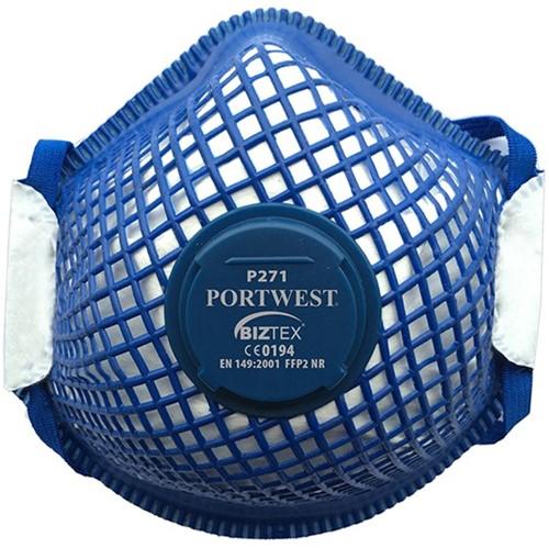 Portwest P271 Ergonet FFP2 Respirator  (10)