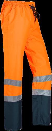 Sioen Ronan Signalisatie Regenbroek-S-Fluo Oranje/Marine-1