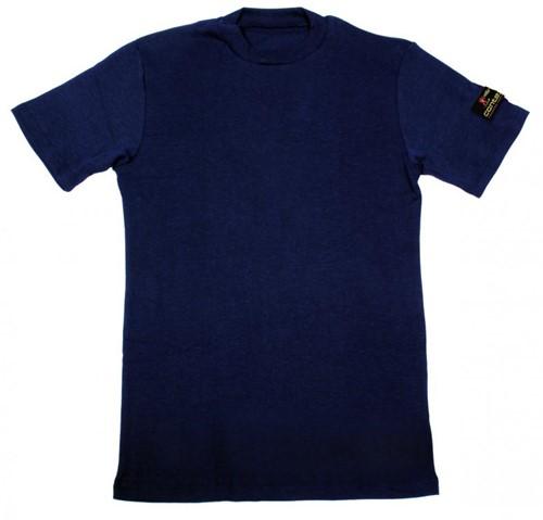Tranemo T-Shirt Korte Mouw Vlamvertragend 590092-Marine-XS