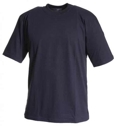 Tranemo T-Shirt Korte Mouw Vlamvertragend 590989-Marine-XS