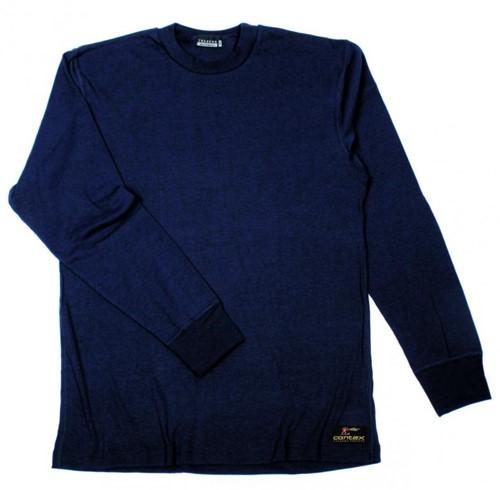 Tranemo T-Shirt Lange Mouw Vlamvertragend 594092-Marine-XS