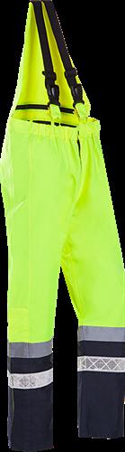 Sioen Glisy Signalisatie Bavetbroek-S-Fluo Geel/Marine