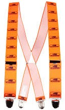 SIP Bretels met clips 5SA5 FCS - Oranje