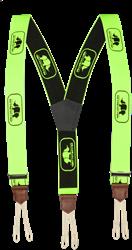 SIP Bretels Lus 5SD6-387 - Hi-Vis Groen/Zwart