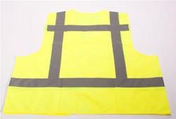 ATV Veiligheidsvest vlamvertragend geel met tekst