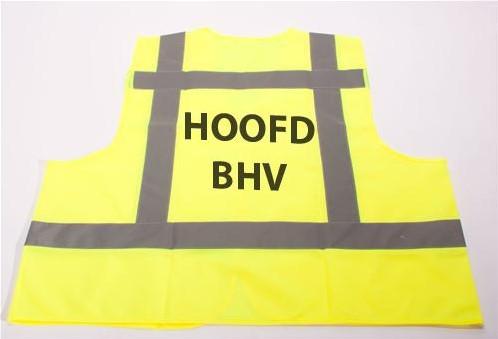 ATV Veiligheidsvest XXL Hoofd BHV geel