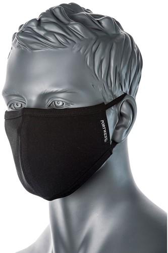 Portwest CV21 2-Ply Fabric Face Mask  (25 stuks)