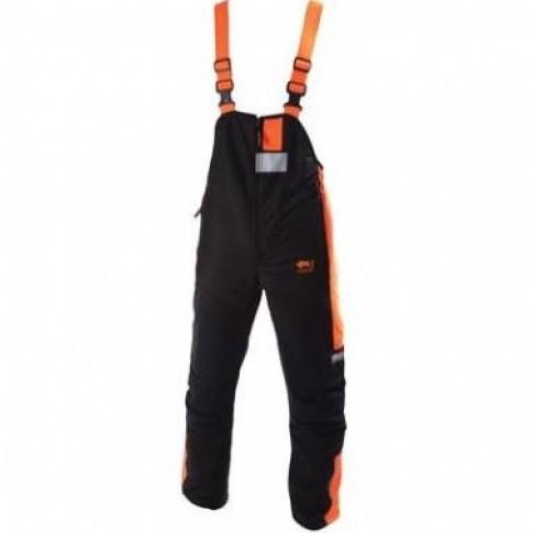 Sticomfort Veiligheidsoverall 6090-Zwart/Oranje-46