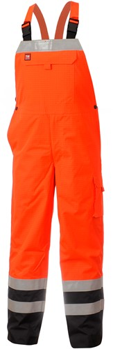 Mammoet Yakut Bib Trouser II - Rood/Zwart-XS