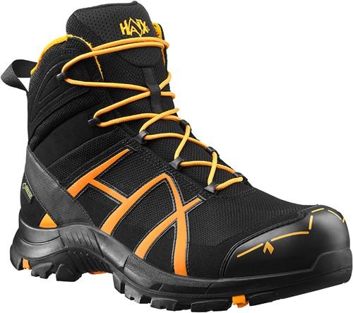 Haix Black Eagle Safety 40 Half Hoog Veiligheidsschoen S3 - Zwart/Oranje