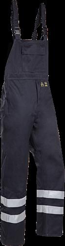 Sioen Atmore Regenbavetbroek met ARC bescherming (Kl 2)-Blauw-S