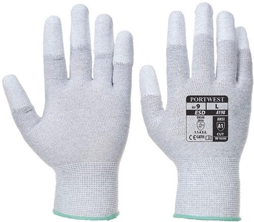 Portwest VA198 Vending PU Fingertip Glove