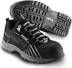 Brynje Schoen Black Knight 617 S1P - Zwart/Grijs