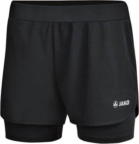 JAKO 6249D 2-in-1 short Dames