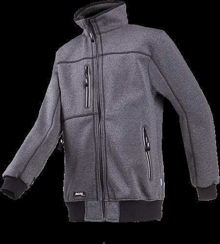Sioen Sherwood Sweater Fleece Jas-XS-Antraciet