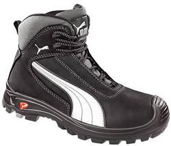 Puma Safety Cascades Mid S3 630210 - Zwart