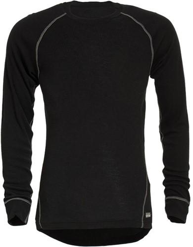 Tranemo T-Shirt Lange Mouw Vlamvertragend 631590-Zwart-XS