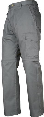 Projob 2502 Werkbroek Zip Off-Steen-44