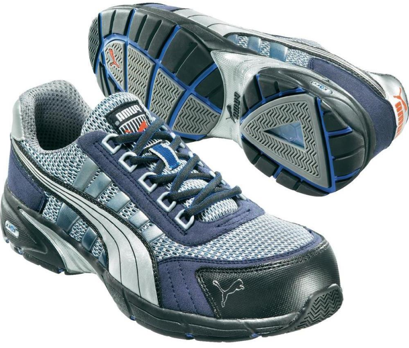 62022d506a7 Puma Safety S1P 642550 - Zilver/Blauw WorkWear4All