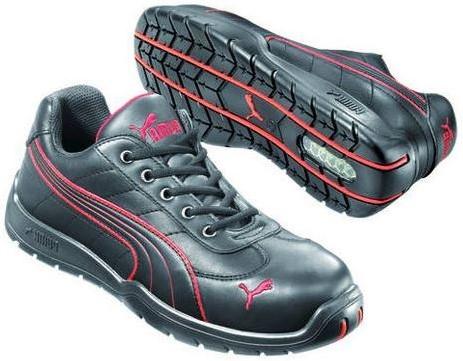 Puma Safety S3 642620 - Zwart/Rood