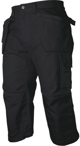 Projob 5517 3/4 Werkbroek-Zwart-44