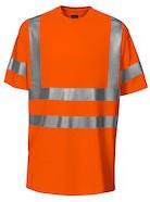 Projob 6010 T-shirt High-vis CL2-Oranje-S/M
