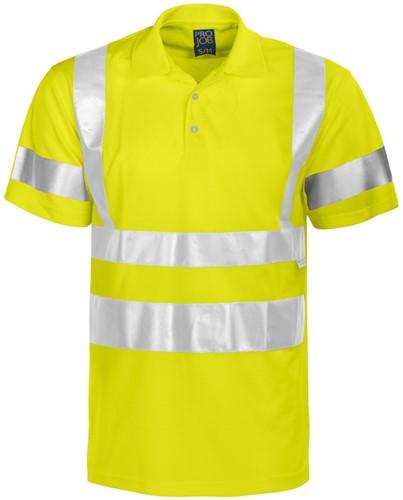 Projob 6011 T-shirt High-vis CL3-Geel-Small/medium