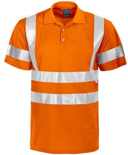 Projob 6011 T-shirt High-vis CL3-Oranje-Small/medium