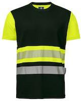 Projob 6020 T-shirt CL.1 - Geel/Zwart