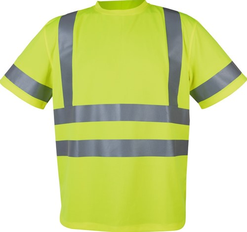 Projob 6030 T-shirt CL.2/3-Geel-XS