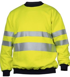 Projob 6101 Sweat T-shirt High-Vis 3