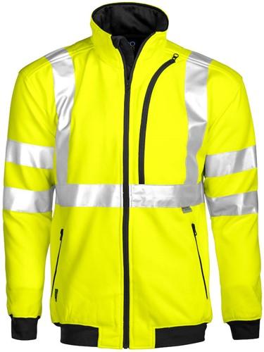 Projob 6103 Sweat T-shirt High-vis CL 3-Geel/Zwart