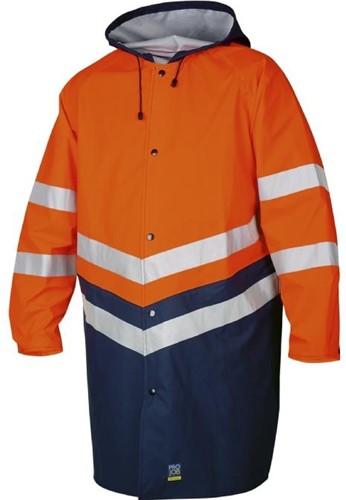 Projob 6403 Regenjas High-vis CL.3-Oranje-XS