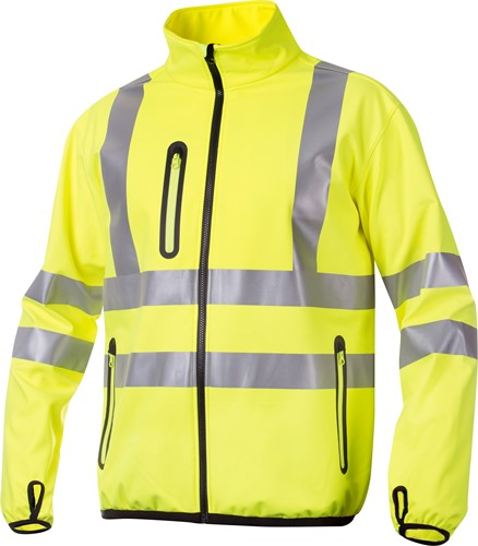 Projob 6412 Softshell Werkjas High-vis