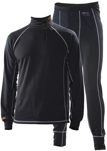 Jobman 6579 Thermo Underwearset zwart