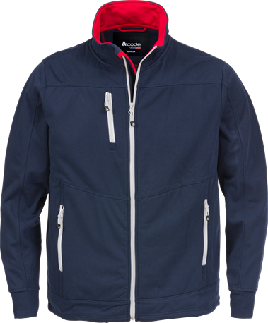 Acode Heren windbreaker-S-Midnight Blue