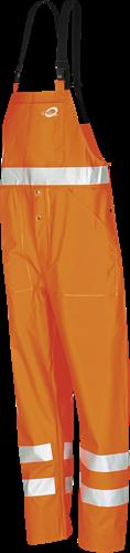 Sioen Aoba Signalisatie Regenbavetbroek-S-Fluo Oranje