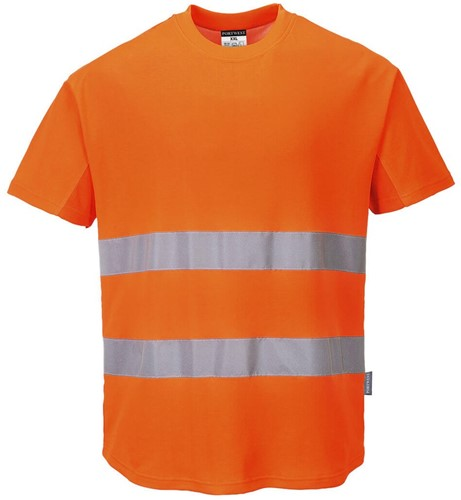 Portwest C394 Hi-Vis Mesh T-Shirt