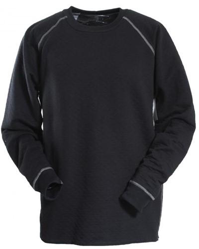 Tranemo T-Shirt Lange Mouw 687142-Zwart-XS