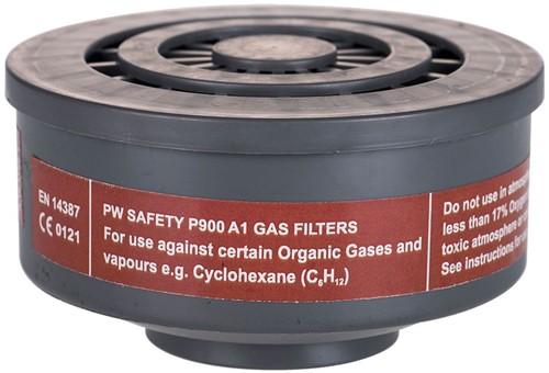 Portwest P900 A1 Screw-In Filter  (6 stuks)