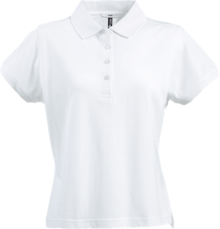 Acode Damespoloshirt, zware kwaliteit