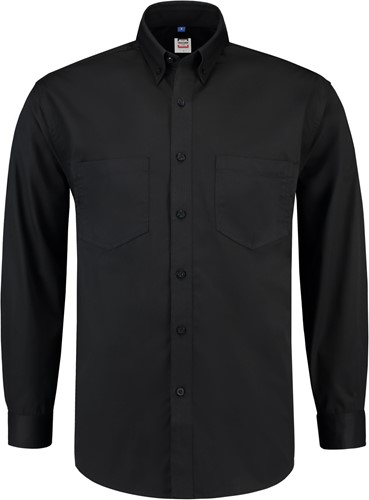 SALE! Tricorp OHL150 Werkhemd Lange Mouw - Zwart - Maat L